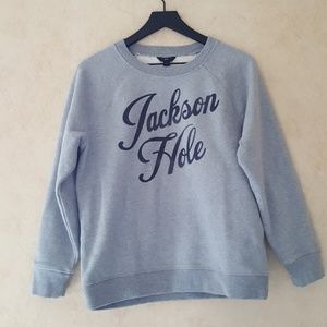 J. Crew Jackson Hole sweatshirt NWOT medium
